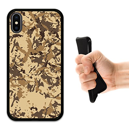 iPhone X Hülle, WoowCase Handyhülle Silikon für [ iPhone X ] Kopfhörer Handytasche Handy Cover Case Schutzhülle Flexible TPU - Schwarz Housse Gel iPhone X Schwarze D0140