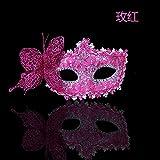 Kaige Maske Maskerade Party Masken Halloween Weihnachten Feder Maske Leistung Requisiten