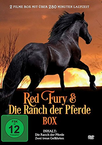 Red Fury & Die Ranch der Pferde Box (2 Filme) (Film-dvd Fury)