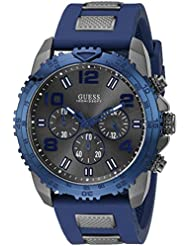 Guess Herren-Armbanduhr Analog Quarz Resin W0599G2