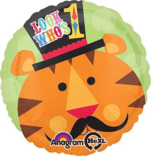 amscan Fisher Price Circus Happy Birthday Tiger Folie Standard Luftballons