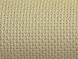 charlescraft 18Zählen Gold Standard Aida Kreuzstich Stoff beige–Pro Pack + Gratis Minerva Crafts Craft Guide
