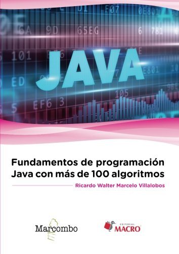 Fundamentos de programación Java con más de 100 algoritmos