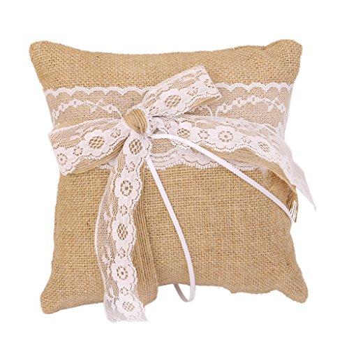 almohada-portador-de-anillo-arpillera-lazo-de-encaje-para-boda-novia-nupcial