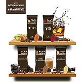 50 Cápsulas de cafè compatibles Nespresso - kit degustación de 50 cápsulas cafè saborizados compatible con maquinas Nespresso - Paquete de 5x10 por un total de 50 cápsules - Il Caffè italiano