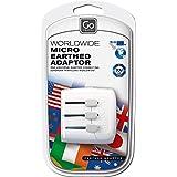 Go Travel Équipement électronique Adaptateur pour EU - USA/UK/Australie/Chine Weiß