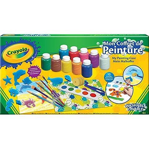 Crayola 54-9039-E-000 - Valigetta del Pittore, Kit creativo con accessori