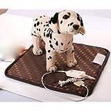 Coussin de chauffage de chenil couverture chauffage couverture chien chiot chat coussin chauffant pour animaux de compagnie