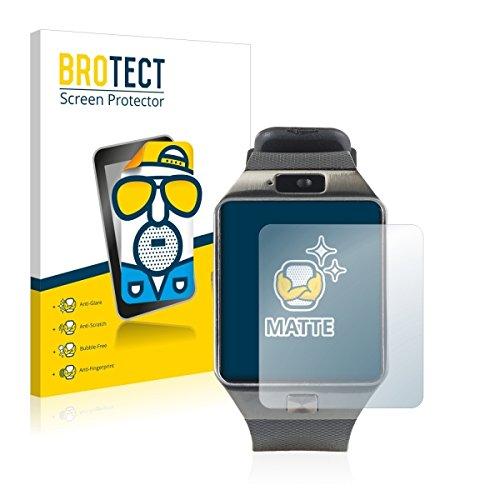 2X BROTECT Matt Bildschirmschutz Schutzfolie für Simvalley Mobile PX-4057 (matt - entspiegelt, Kratzfest, schmutzabweisend)