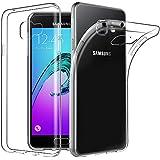 Coque Samsung Galaxy A3 2016, EasyAcc Etui Slim Transparent Antidérapant de Protection Dorsale Cover Case en TPU Souple avec Cristaux Limpides Pour Galaxy A3 ( SM-A310F, 2016 Version 4.7 Pouces )