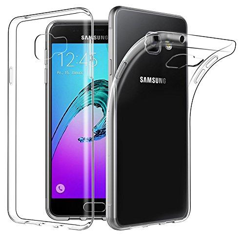 EasyAcc Hülle Case für Samsung Galaxy A3 2016, Dünn Crystal Clear Transparent Weich Handyhülle Cover Soft Premium-TPU Durchsichtige Schutzhülle Kompatibel mit Samsung Galaxy A3 2016 / A310