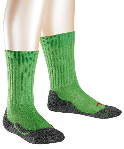 FALKE Unisex-Kinder Socken Active Warm, Grün (Rugby Green 7741), 39-42
