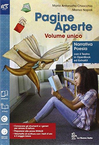 Pagine aperte. Openbook-Extrakit-Testi d'uso. Per le Scuole superiori. Con e-book. Con espansione online