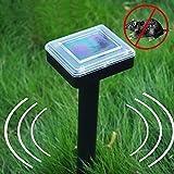 EMVANV solare repellente per talpe Sonic Wave mouse deterrente repellente allontana topi roditori Vole Gopher sicuro Umanamente Lawn Garden protezione