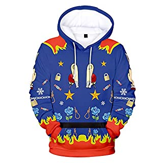 YaYang Raptor Squad Herren Hoodie Mode Sweatshirt Pullover Harleen Quinze 3D Roman Druck Casual Street Wear Unisex Memorial Kleidung