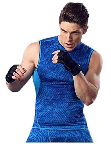 Uomo dimagrante Sport Gilet Body Shaper Aziende Addome Indietro Supporto compressione Fit