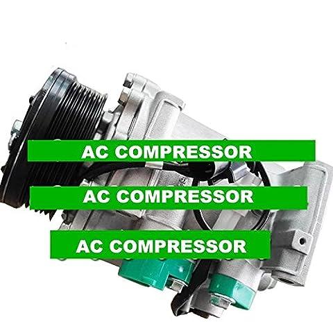 GOWE AC Compressor For MSC105CA AC Compressor For Car Mitsubishi Endeavor V6 3.8L For Galant L4 2.4L V6 3.8L 2004-2011MR513358 MN185233 77493
