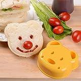 Winkey Kuchen Schimmel, Kinder Kinder Bär Ausstecher für Sandwiches Form Stempel Lunch