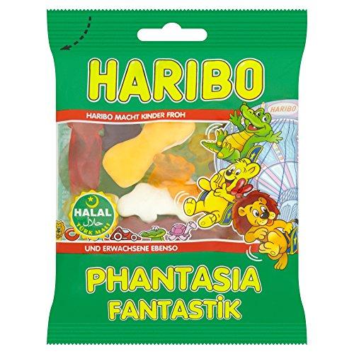Haribo Phantasia / Fantastik, Helal / Halal, Gummibärchen, Weingummi, Fruchtgummi, 100g