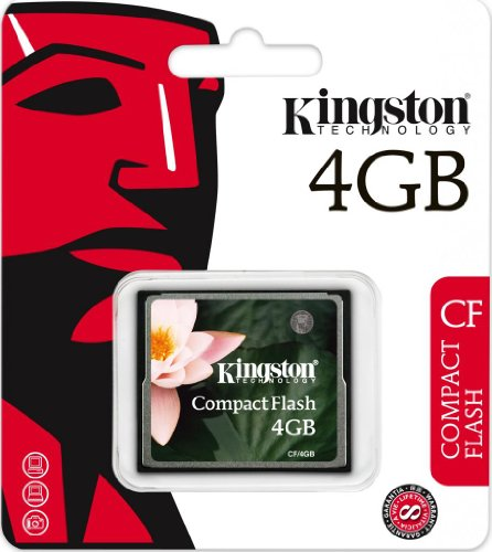 Kingston 4GB Compact Flash Card