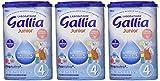 Laboratoire Gallia Junior - Lait bébé en poudre de 18 mois à 3 ans 900 g...