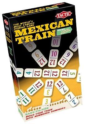 Tactic - 40484 - Jeu De Voyage - Mexican Train Voyage