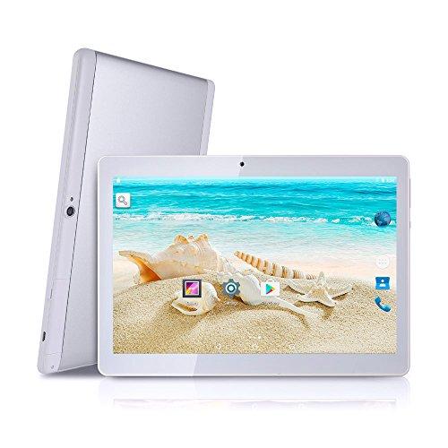 blet 25,6 cm (10,1Zoll), Dual-SIM, Android 6.0,Telefonfunktion, 1280x 800IPS-Display, Dualkamera, GSM entsperrt, Tablet 2G/3G ()