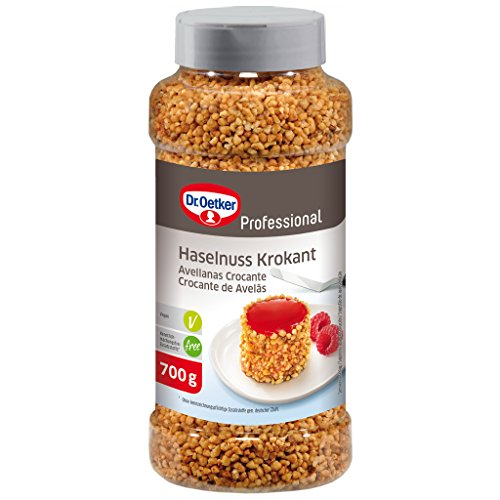 Dr. Oetker Professional Haselnuss Krokant-Streusel, 700 g Dose