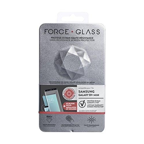 Force Case Kit de Protège-écran en Verre Trempé pour Samsung Galaxy S9+