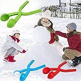 Hifuture Set di Clip per creatore di Palle di Neve, Clip di creatore di Palle di Neve Invernali Scoop Sabbia Argano Pupazzo di Neve Stampo Pala Benna Set di Strumenti Pretty Approachable