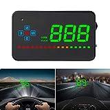 iKiKin HUD GPS, Car Head Up Display for All Cars and Trucks,Windshield LED