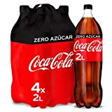 Coca-Cola Zero Azúcar Botella - 2 l (Pack de 4)