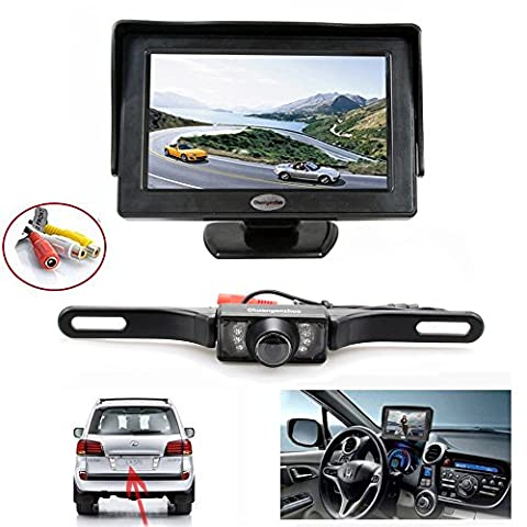 Backup Kamera und Monitor Kit, chuanganzhuo Nummernschild