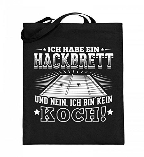 Chorchester Hochwertiger Jutebeutel (mit langen Henkeln) - Hackbrett Fans aufgepasst!