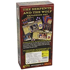 Spartacus the Serpents and the Wolf: Expansion Set