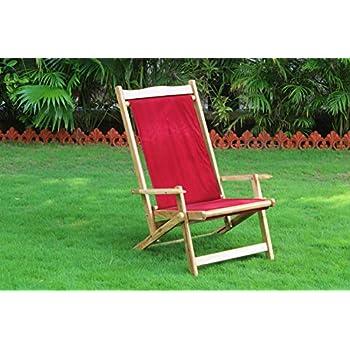 Royal Bharat Easy Chair High Back Wooden Folding