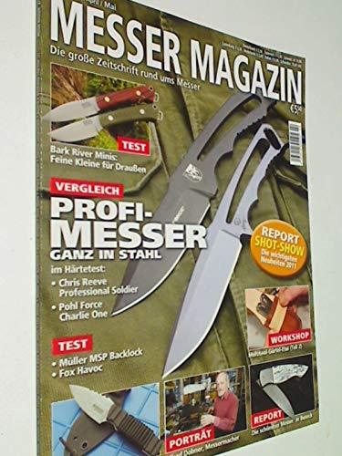 Messer Magazin Nr. 2 / 2011 Test: Müller MSP Backlock, Fox Havoc; Chris Reeve Professional Soldier...