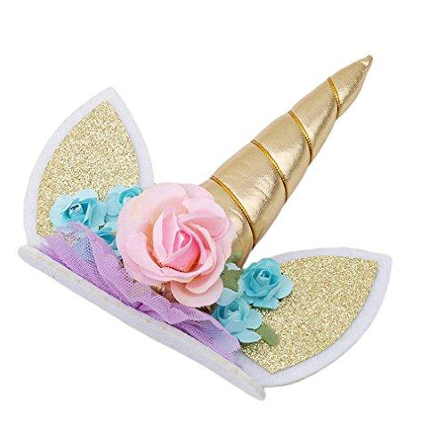 rtikel, Kuchen, Dekoration Einhorn Kuchen Topper Cupcake Torten Dekoration Rainbow Topper Party Dekoration Zubehör ()