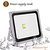 Roleadro Led Floodlights Outside 50w IP65 Waterproof 6500K Cool White Outdoor Led Lights for Garden