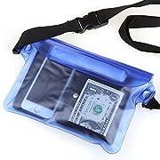 Perché scegliere il borsa impermeabile al 100% di Crenova?1.100%impermeabile- Utilizziamo 3 chiusure lampo a tenuta e parte superiore con Velcro per mantenere i tuoi oggetti asciutti e puliti. Materiale PVC di alta qualità per garantirne l'...