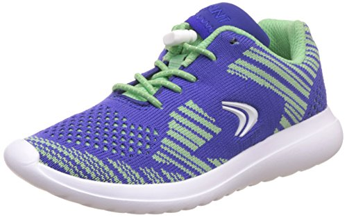 Clarks SprintKnit Jnr Mädchen Sneakers Purple Combi