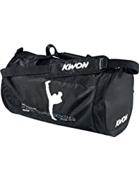 KWON 5016004 Kick Thaiboxing - Bolsa de deporte (48 x 24cm), color negro