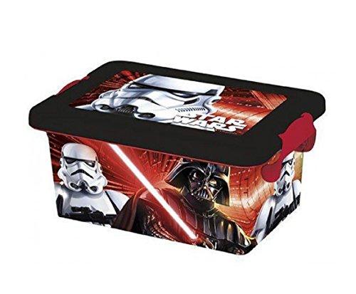 Preisvergleich Produktbild STAR WARS Disney Behälter Dose Box Aufbewahrungsbox mit Deckel Stromaggregat Werkzeug Kinder Kinderzimmer