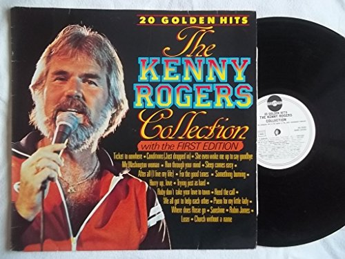Dutch Master Collection (KENNY ROGERS The Kenny Rogers Collection: 20 Golden Hits LP Dutch press)