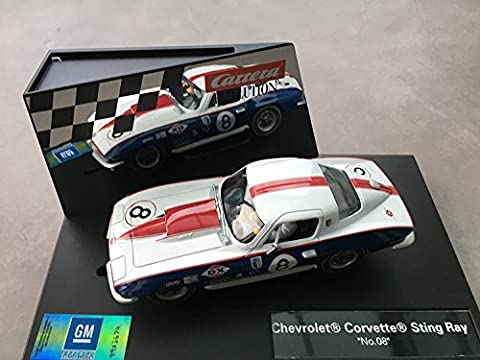 CA27524 Carrera 1:32 - Carrera Chevrolet Corvette Stingray No.8