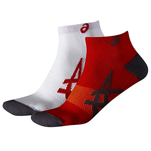 Preisvergleich Produktbild ASICS 2PPK Lightweight Sock,  rot