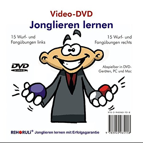Video-DVD Jonglieren lernen: inkl. 36 seitiges Booklet (alle 34 Video-Übungen im Heft)