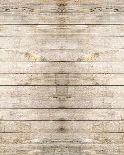 YongFoto 1,5x2,2m Foto Hintergrund Holzboden Rustikales Hölzernes Altes Hölzernes Planken Beschaffenheits Holz Brett Fotografie Hintergrund Photo Booth Baby Party Banner Kinder Fotostudio Requisiten