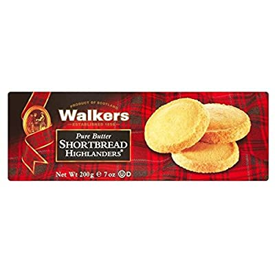 Walkers Pure Butter Shortbread Highlanders (200g) - Pack of 2