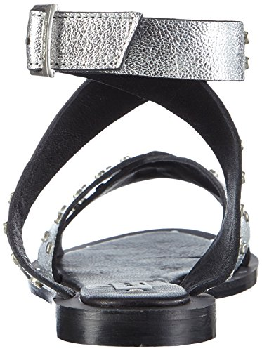 Pepe Jeans Gayton Triangle, Spartiates femme Argent - Silber (934SILVER)